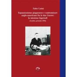 Espansionismo giapponese e contromisure anglo-americane fra le due Guerre