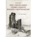 Orte - Monte Cimino - Viterbo - Ferento - Bomarzo - Montefiascone