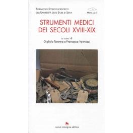 Strumenti medici dei secoli XVIII-XIX